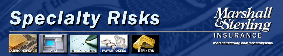 Specialty Risks Header - Click for more information